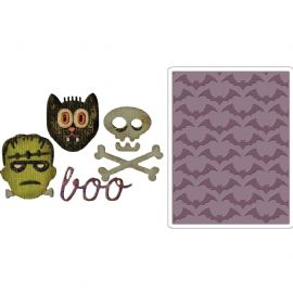 Sizzix Tim Holtz - Sidekick Side-Order Set - Halloween - 663072